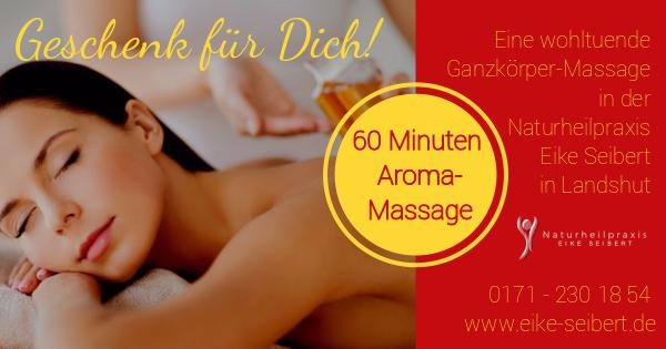 Aromaöl-Massage Naturheilpraxis Eike Seibert, Landshut - Jetzt buchen!