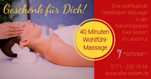 Wohlfühl-Massage Naturheilpraxis Eike Seibert, Landshut - Jetzt buchen!