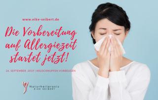 Die Vorbereitung auf Allergiezeit startet jetzt!